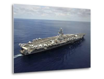 Nimitz-class Aircraft Carrier USS Dwight D. Eisenhower-Stocktrek Images-Metal Print