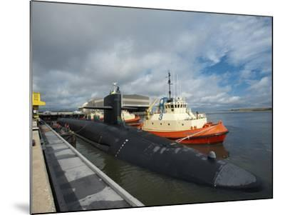 Ballistic Missile Submarine USS Tennessee at Naval Submarine Base Kings Bay-Stocktrek Images-Mounted Photographic Print