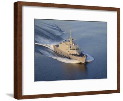 The Littoral Combat Ship Pre-Commissioning Unit Fort Worth-Stocktrek Images-Framed Photographic Print