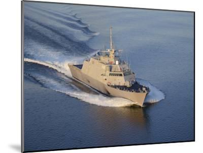 The Littoral Combat Ship Pre-Commissioning Unit Fort Worth-Stocktrek Images-Mounted Photographic Print