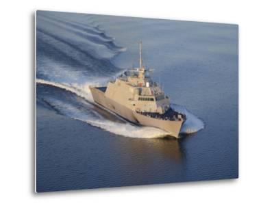 The Littoral Combat Ship Pre-Commissioning Unit Fort Worth-Stocktrek Images-Metal Print