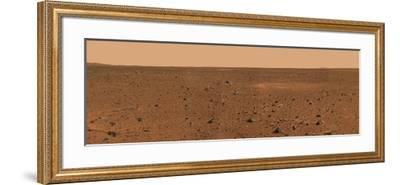 360-degree Panoramic View of Mars-Stocktrek Images-Framed Photographic Print
