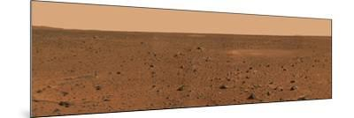360-degree Panoramic View of Mars-Stocktrek Images-Mounted Photographic Print