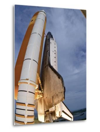 Space Shuttle Endeavour Lifts Off from Kennedy Space Center-Stocktrek Images-Metal Print