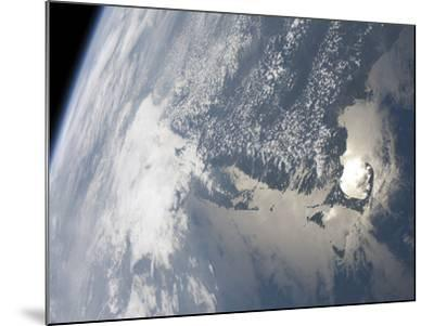 Sunglint On the Waters of Earth-Stocktrek Images-Mounted Photographic Print