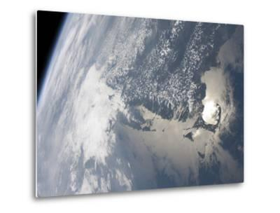 Sunglint On the Waters of Earth-Stocktrek Images-Metal Print