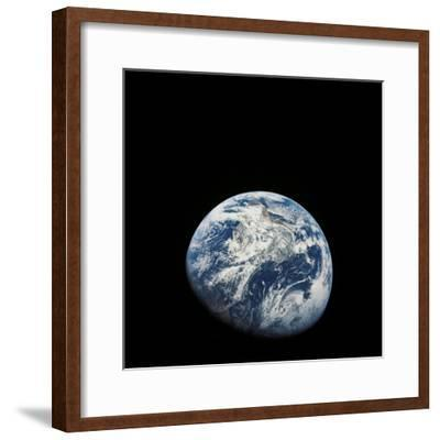 View of Earth Taken from the Aollo 8 Spacecraft-Stocktrek Images-Framed Photographic Print