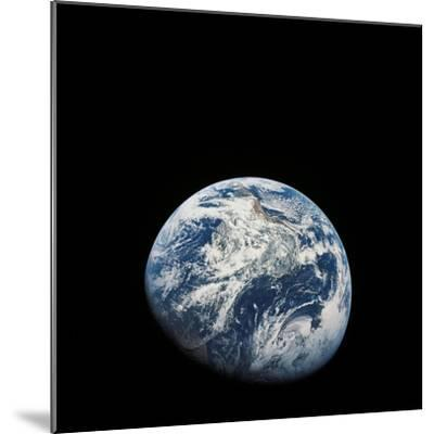 View of Earth Taken from the Aollo 8 Spacecraft-Stocktrek Images-Mounted Photographic Print