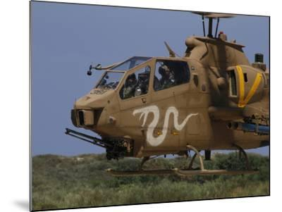 An AH-1S Tzefa Attack Helicopter of the Israeli Air Force-Stocktrek Images-Mounted Photographic Print