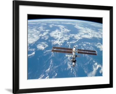 International Space Station-Stocktrek Images-Framed Photographic Print