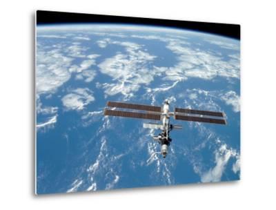 International Space Station-Stocktrek Images-Metal Print