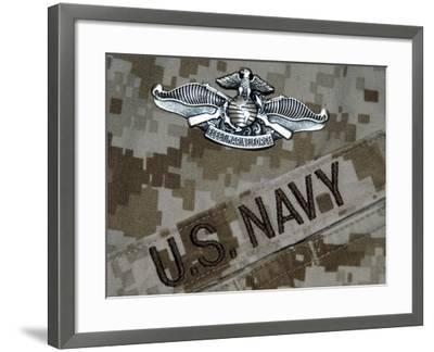 The Fleet Marine Force Warfare Specialist Pin-Stocktrek Images-Framed Premium Photographic Print