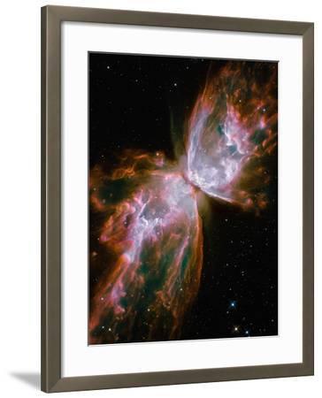 The Butterfly Nebula-Stocktrek Images-Framed Photographic Print
