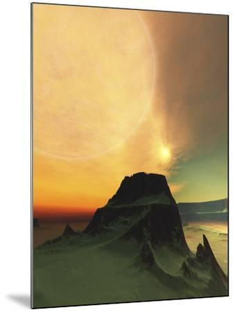 Cosmic Landscape On Another World-Stocktrek Images-Mounted Photographic Print