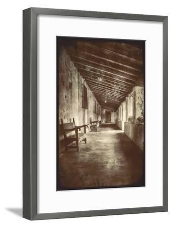 Mission Walk-Vincent James-Framed Photographic Print