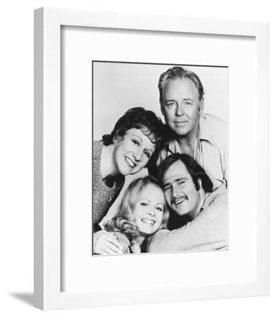 All in the Family--Framed Photo