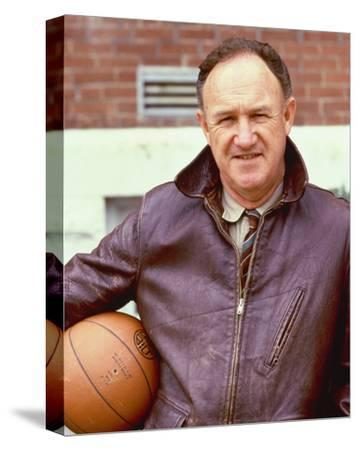Gene Hackman - Hoosiers--Stretched Canvas Print