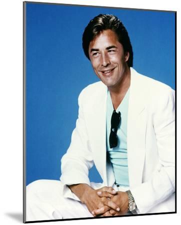 Don Johnson - Miami Vice--Mounted Photo