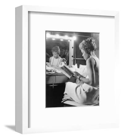 Eartha Kitt--Framed Photo