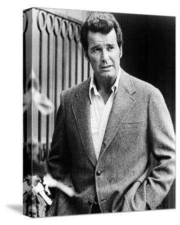 James Garner - The Rockford Files--Stretched Canvas Print