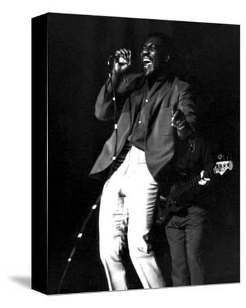 Otis Redding--Stretched Canvas Print