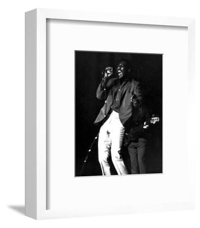Otis Redding--Framed Photo