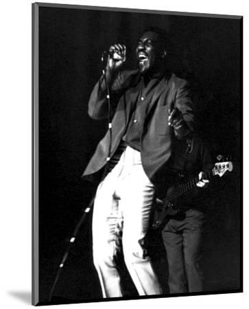 Otis Redding--Mounted Photo