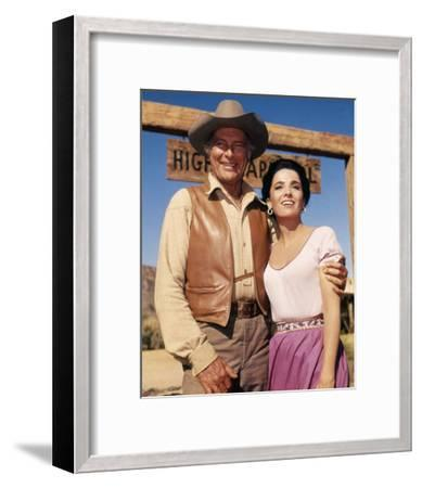 The High Chaparral--Framed Photo