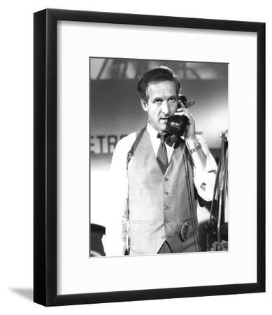 Daniel J. Travanti - Hill Street Blues--Framed Photo