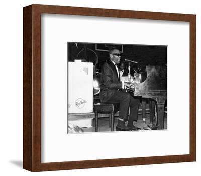 Ray Charles--Framed Photo