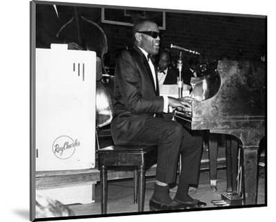 Ray Charles--Mounted Photo
