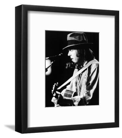 Neil Young--Framed Photo