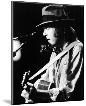 Neil Young--Mounted Photo