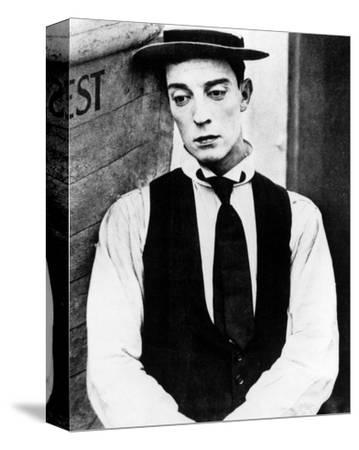 Buster Keaton--Stretched Canvas Print