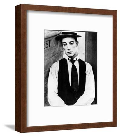 Buster Keaton--Framed Photo