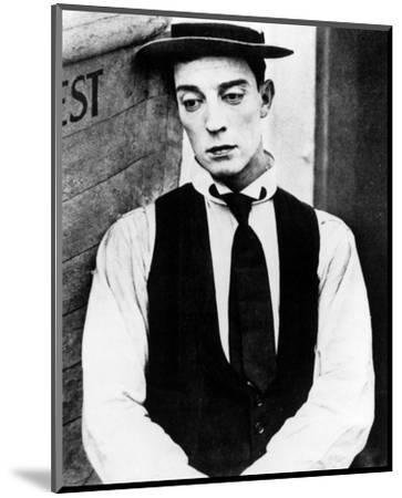 Buster Keaton--Mounted Photo