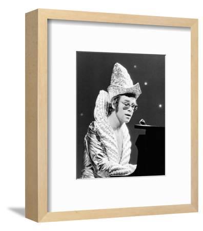 Elton John--Framed Photo