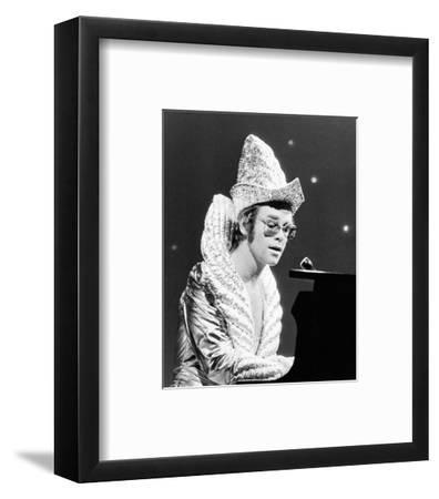 Elton John--Framed Photo