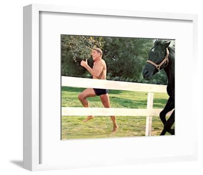 The Swimmer--Framed Photo