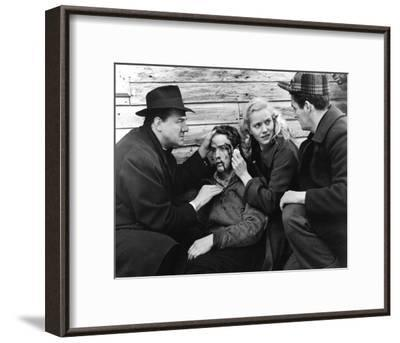 On the Waterfront--Framed Photo