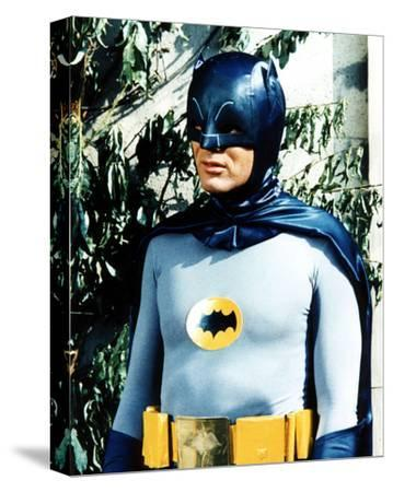 Adam West - Batman--Stretched Canvas Print