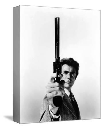 Clint Eastwood - Dirty Harry--Stretched Canvas Print