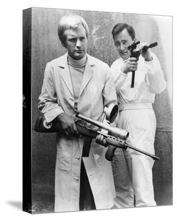 The Man from U.N.C.L.E.--Stretched Canvas Print