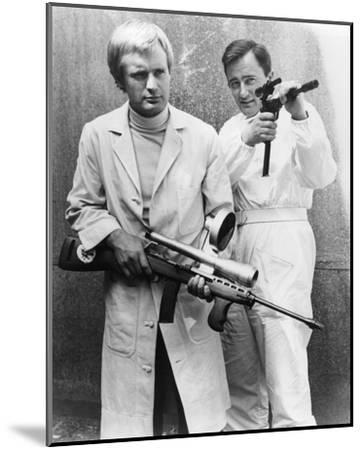 The Man from U.N.C.L.E.--Mounted Photo
