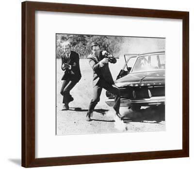 The Man from U.N.C.L.E.--Framed Photo