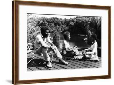 Rachel Robinson, 1975-Moneta Sleet Jr.-Framed Photographic Print