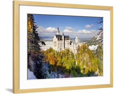 Neuschwanstein Castle, Bavaria, Germany, Europe-Gavin Hellier-Framed Photographic Print