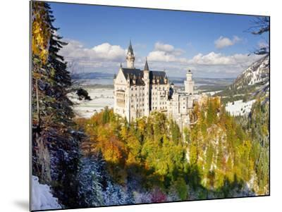 Neuschwanstein Castle, Bavaria, Germany, Europe-Gavin Hellier-Mounted Photographic Print