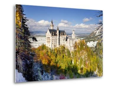 Neuschwanstein Castle, Bavaria, Germany, Europe-Gavin Hellier-Metal Print
