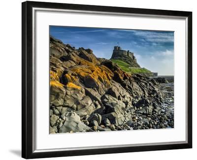 Europe, England, Northumberland, Holy Island, Lindisfarne Castle-Mark Sykes-Framed Photographic Print